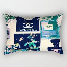 Coco No.5 Fashion Collage Rectangular Pillow