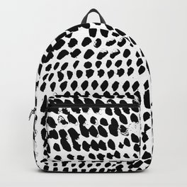 Flowing dots 02 Backpack