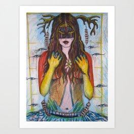 Bridgewalker Art Print