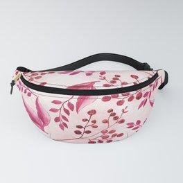 Botanical Watercolor Fanny Pack
