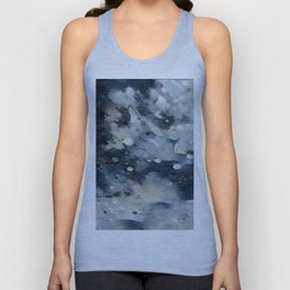 Dark Galaxy1 watercolour by CheyAnne Sexton Unisex Tank Top