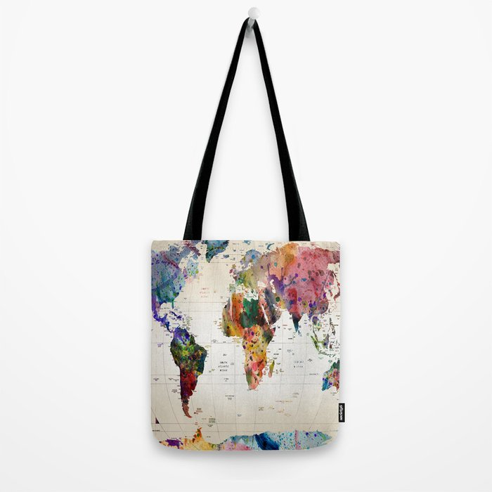 map Tote Bag