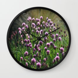 Chives 2 Wall Clock