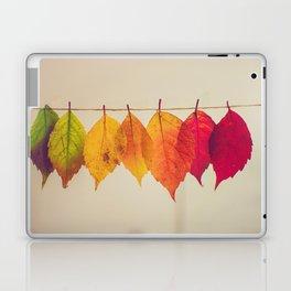 Rainbow Leafs (Color) Laptop & iPad Skin