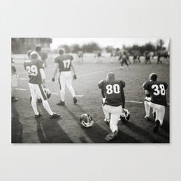American Football players Canvas Print
