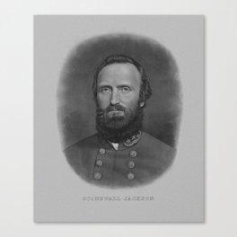 General Thomas Stonewall Jackson Canvas Print
