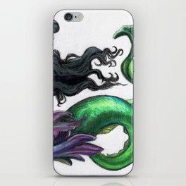 Lusterweibchen Mermaid iPhone Skin