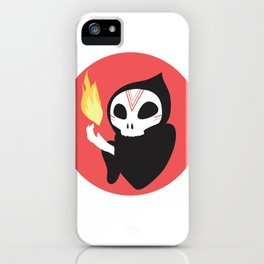 Skull Dude iPhone Case