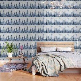 Blue Duotone Wallpaper