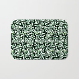 shapes and leaves Bath Mat