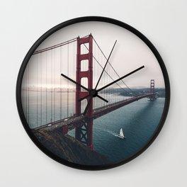 Golden Gate Bridge - San Francisco, CA Wall Clock