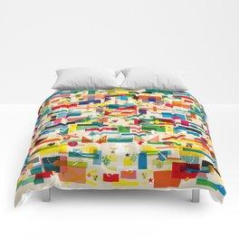 Olympic Village Comforters