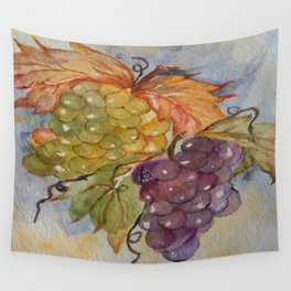 Grapes Wall Tapestry