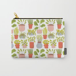 Tiny Plants Carry-All Pouch