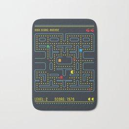 Pacman Bath Mat