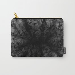 Abstract Radial Gradation Carry-All Pouch