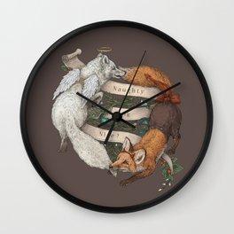 Naughty or Nice? Wall Clock