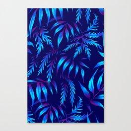 Brooklyn Forest - Blue Canvas Print