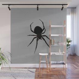 Orb Weaver Silhouette Wall Mural