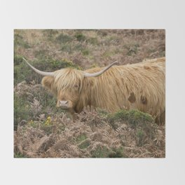 Highland Lad Throw Blanket