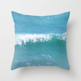 Wave Chalet Throw Pillow