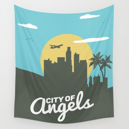 City of angels Wall Tapestry
