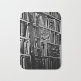 Book Shelves Bath Mat