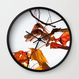 Autumn Sonata I Wall Clock