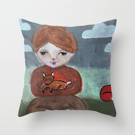 Come Pick Me Up Throw Pillow