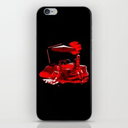 Punch The Pool iPhone Skin