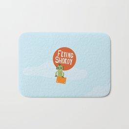 Flying Shokoy (Philippine Mythological Creatures Series #4) Bath Mat