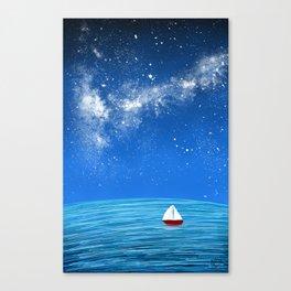 Smooth Sailin Canvas Print