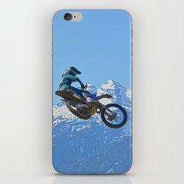 Revelstoke Ride - MotoX Racing in British Columbia iPhone Skin