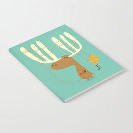 A moose ing Notebook