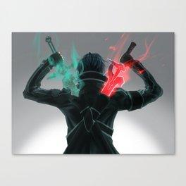 SAO Double Sword Canvas Print