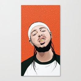 Malone, Post Canvas Print