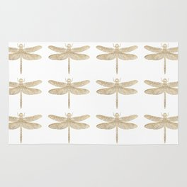 the dragonfly Rug