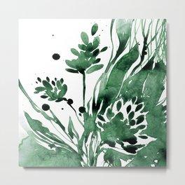 Organic Impressions No. 103 by Kathy Morton Stanion Metal Print