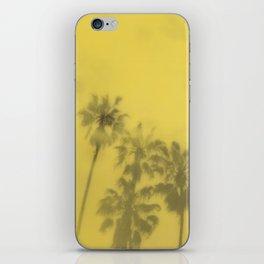 Yellow Palms iPhone Skin