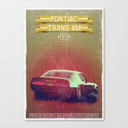 TransAM Canvas Print