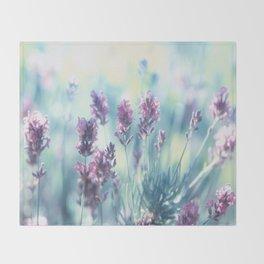 Lavender Summerdreams Throw Blanket
