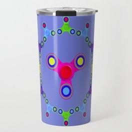 Fidget Spinner Design version 1 Travel Mug