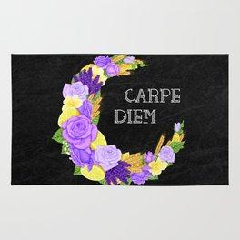 Crescent Bloom | Lavender and lemons  Rug