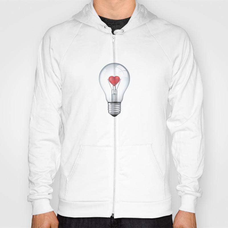 Lamp Heart Zip Up by Igorkalatay SSR8695388
