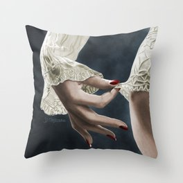 Lingerie Throw Pillow