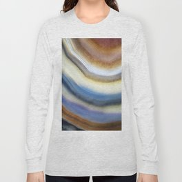 Colorful layered agate 2075 Long Sleeve T-shirt