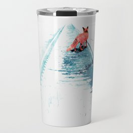 From nowhere to nowhere Travel Mug