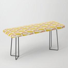 Lemon Meringue Pie Pattern Bench
