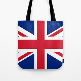 UK FLAG - The Union Jack Authentic color and 3:5 scale  Tote Bag