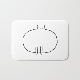 Cat 91 Bath Mat